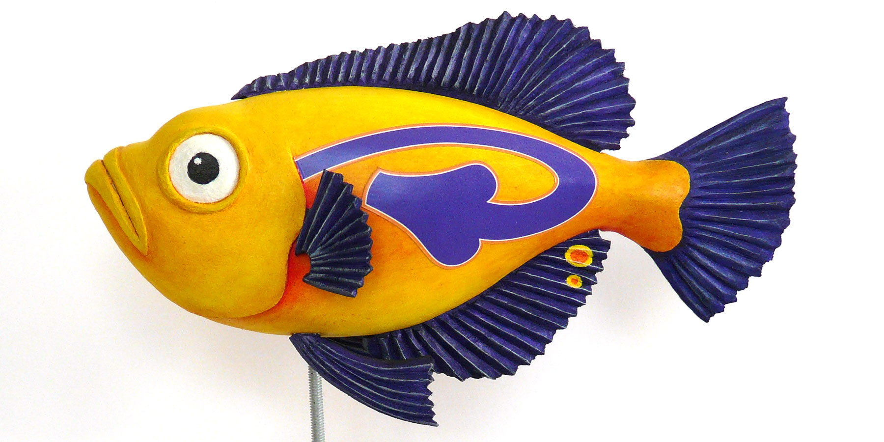 Snapper Fish Carving